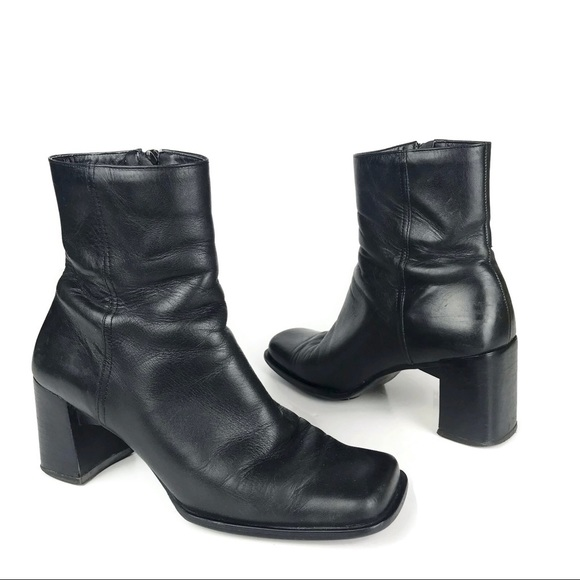 14bb0dc8debb Enzo Angiolini Shoes - Enzo Angiolini Ankle Boots Leather Square Toe